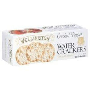 Wellington Crackers Cracked Pepper (12x4.4oz )