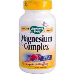 Nature's Way Magnesium Complx 500m (1x100cap )