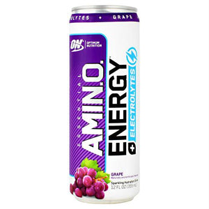 Optimum Nutrition Essential Amino Energy + Electrolytes RTD Grape