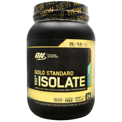 Optimum Nutrition Gold Standard Isolate Mint Brownie Gluten Free