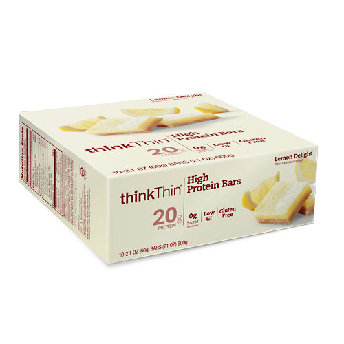 Think Products Think Thin High Protein Bar Lemon Delight - Gluten Free