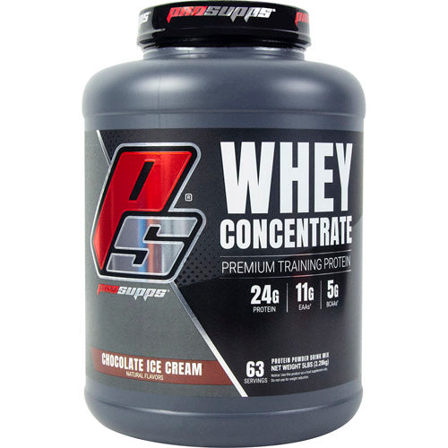 Pro Supps PS Whey Concentrate Chocolate Ice Cream - Gluten Free