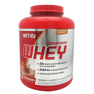 Met-Rx USA 100% Ultramyosyn Whey Strawberry