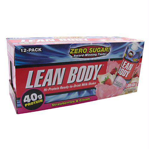 Labrada Nutrition Lean Body RTD Strawberry - Gluten Free