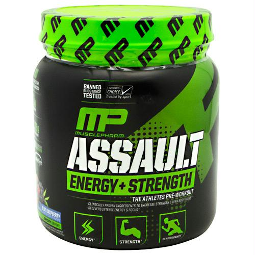 MusclePharm Sport Series Assault Blue Raspberry