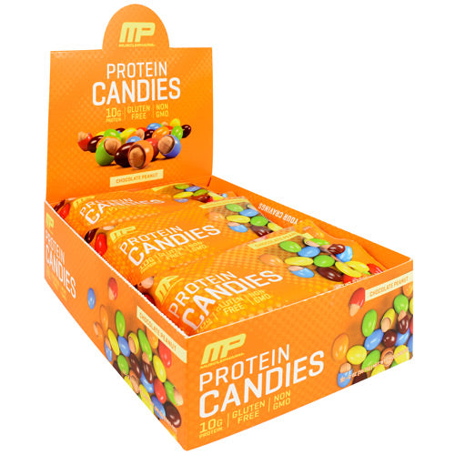 MusclePharm Protein Candies Chocolate Peanut - Gluten Free