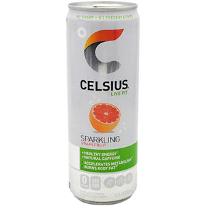Celsius Natural Celsius Strawberries and Cream - Gluten Free