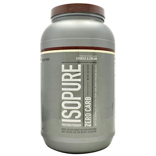 Nature's Best Zero Carb Isopure Cookies & Cream