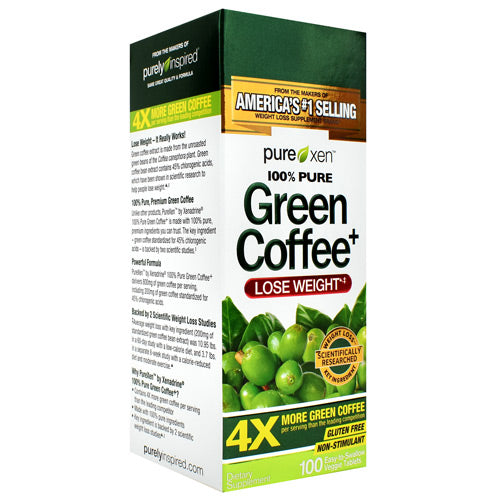 Muscletech PureXen 100% Pure Green Coffee+ - Gluten Free
