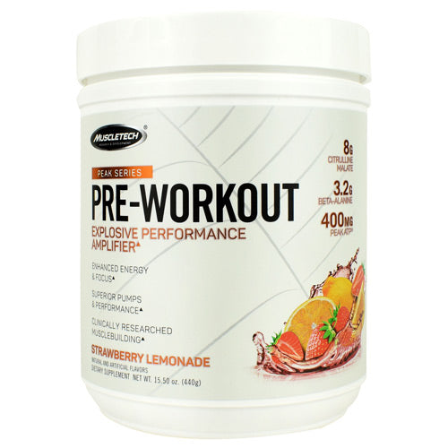 Muscletech Peak Series Pre-Workout Strawberry Lemonade