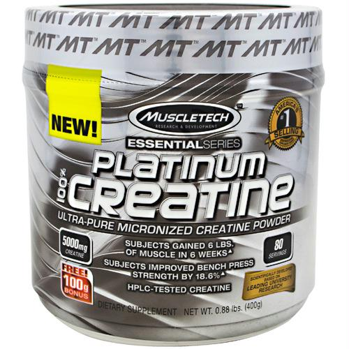 Muscletech Essential Series Platinum Creatine Unflavored