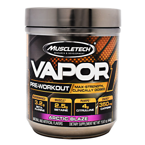 Muscletech Performance Series Vapor1 Arctic Blaze