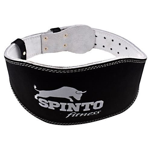 Spinto USA, LLC Padded Leather Lifting Belt Black