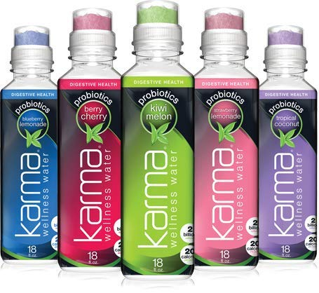 Karma Wellness Water Wellness Water Blackberry Cherry - Gluten Free