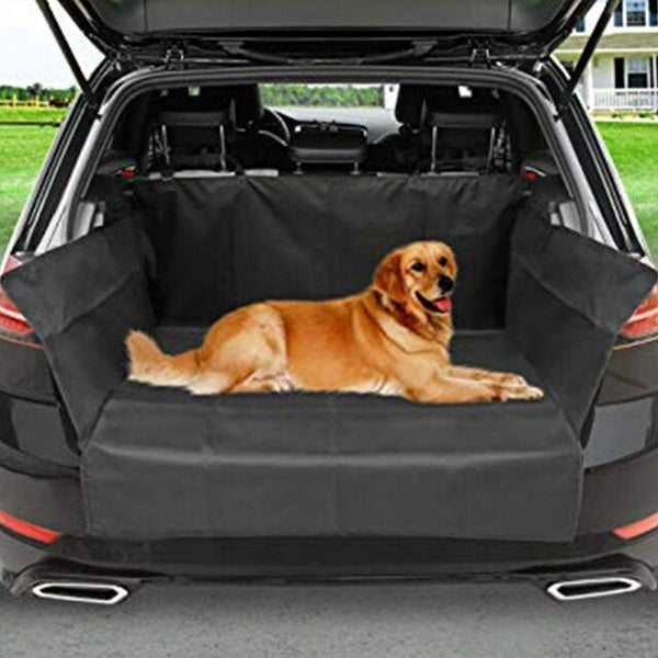 Car Pet Trunk Mat Tarpaulin Waterproof Oxford Cloth Dog Cat Back Seat Covers Rear Auto Pad Car Protection Blanket Seat Cover