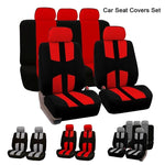 4pcs/9pcs Universal Car Seat Covers Full Car Seat Cover Car Protector Car Front Seat Back Seat Pads Car Accessories