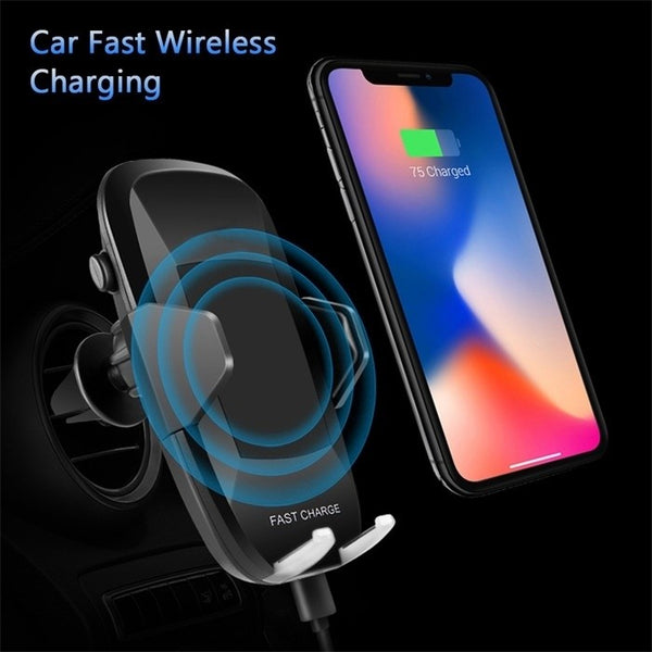 Hot Sell Car Holder Mount Car Fast Charger Car Accessories Car Fast Wireless Car Charger