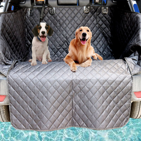 High Quality Car Trunk Cover Waterproof 600D Oxford Dog Auto Car Trunk Mat / Back Seat Cover Pet Mats for SUV 190*174cm
