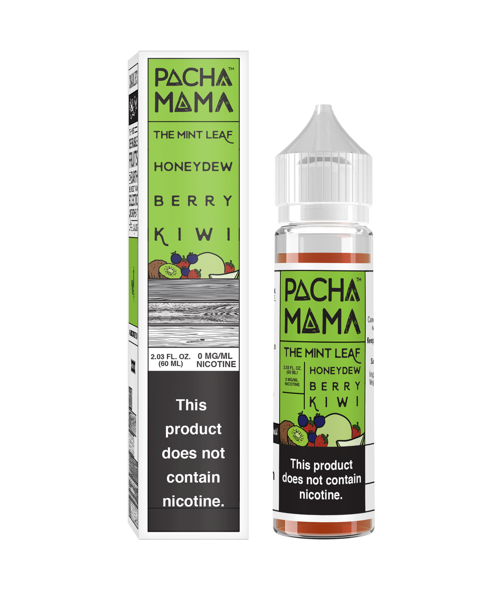 PACHA THE MINT LEAF HONEYDEW BERRY KIWI 60ML