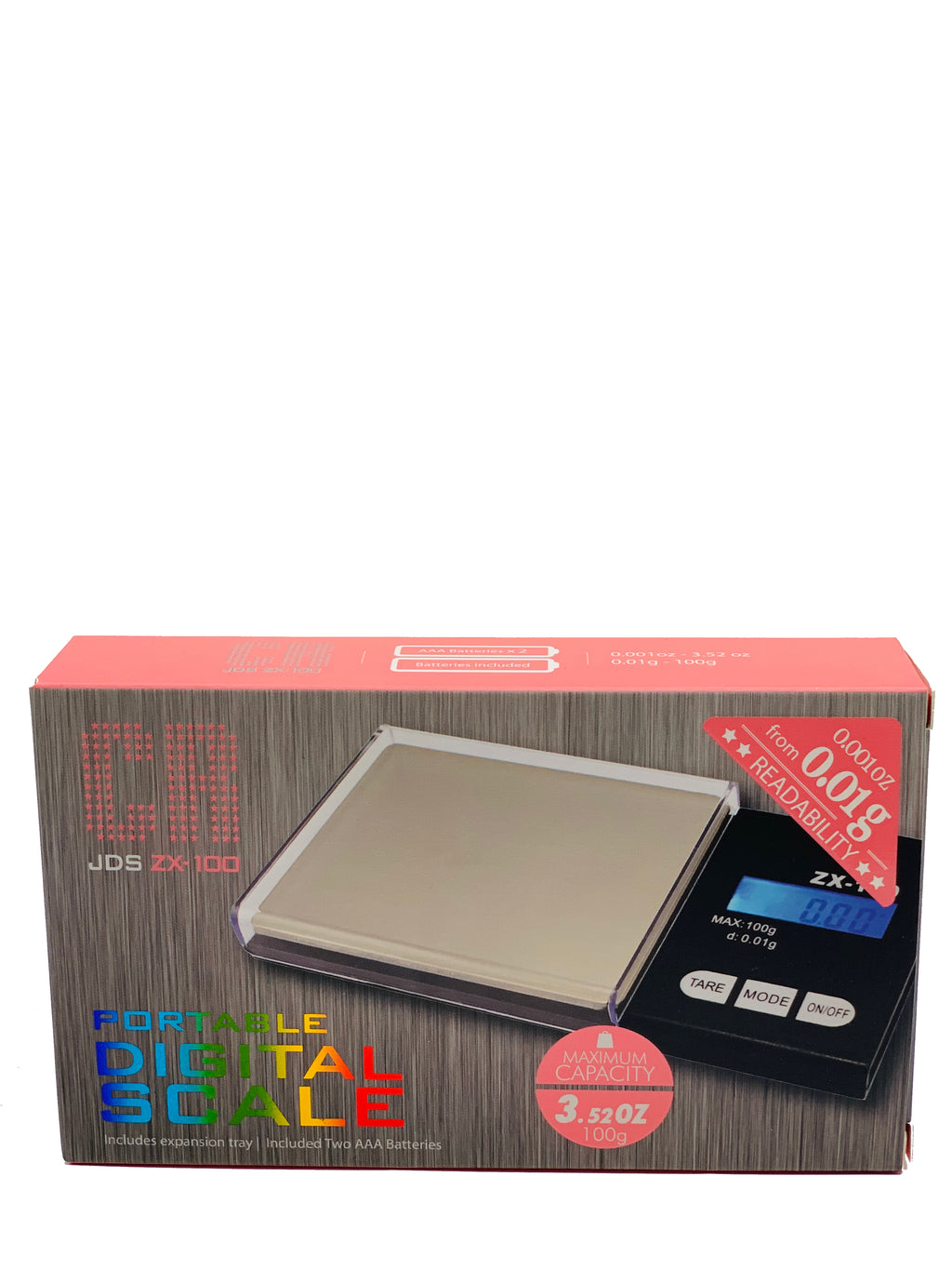 CR DIGITAL SCALE JDS ZX-100 0.01G