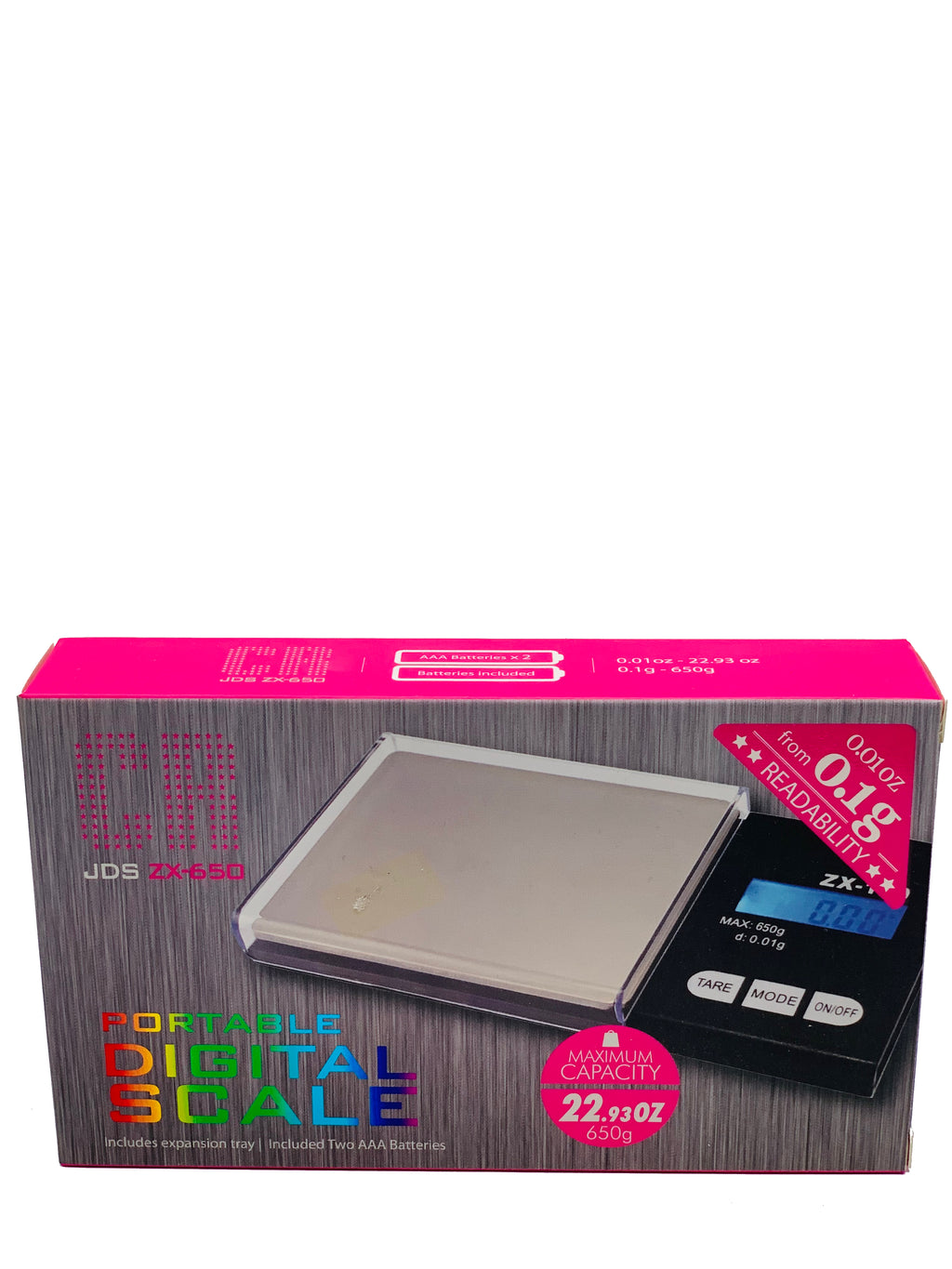 CR DIGITAL SCALE JDS ZX-650 0.1G