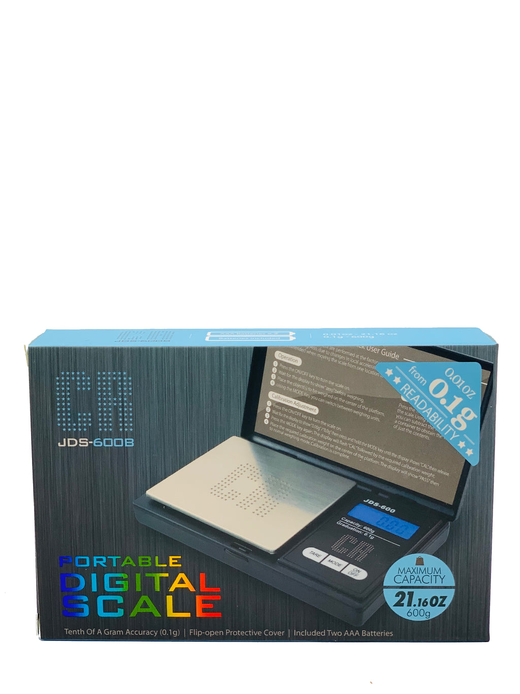 CR DIGITAL SCALE JDS-600B 0.1G