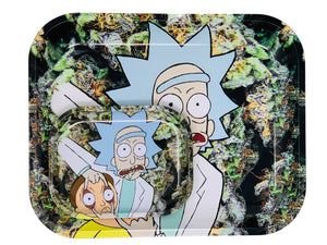 RICKY MORTY ROLLING TRAYS #3