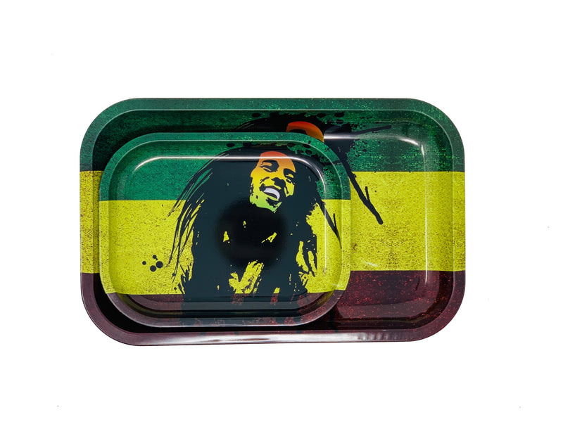 BOB MARLY  MATEL ROLLING TRAYS #1