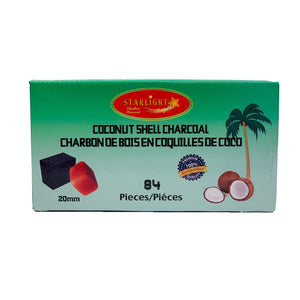 STARLIGHT COCONUT SHELL CHARCOAL CUBES