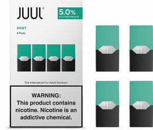 JUUL 5% COOL MINT PODS [8] PER BOX