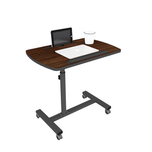 Livenza - Height adjustable laptop table (Walnut)
