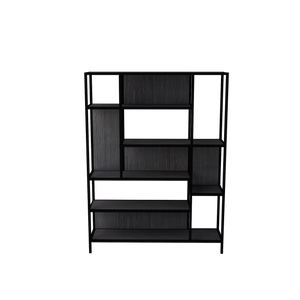 Venice Display unit (Dark Wood Black)