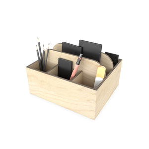 Enrico 7 Compartments Pen Stand-Cum- Office Organiser Desk Accessory
