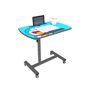 Livenza - Height adjustable laptop table (Blue)