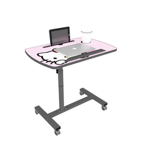 Livenza - Height adjustable laptop table (Pink)