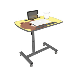 Livenza - Height adjustable laptop table (Yellow)