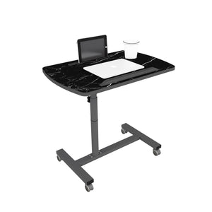 Livenza - Height adjustable laptop table (Marble)