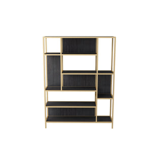 Venice Display unit (Dark Wood Golden)