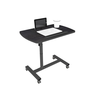 Livenza - Height adjustable laptop table (Dark wood)