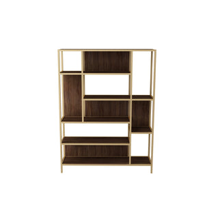 Venice Display unit (Walnut_Golden)