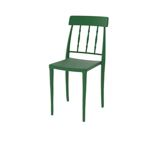 Pino Patio Green Plastic Chair