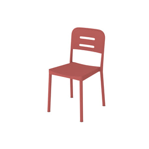 Acero Italy Red Plastic Chair