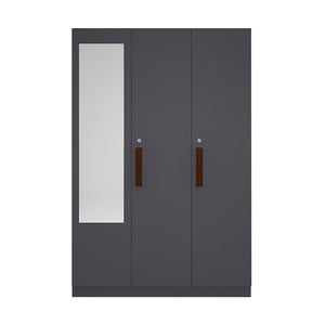 Three Door Wardrobe (Mirror)