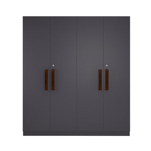 Four Door Wardrobe (Hanging Space)