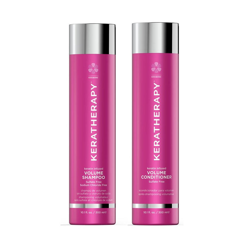 Keratherapy Keratin Infused Volume Shampoo and Conditioner Duo - Haircare Superstore