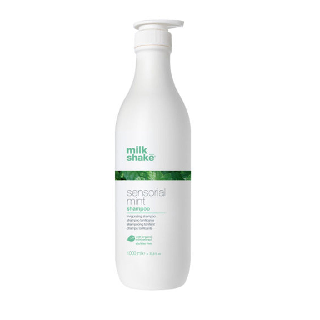 milk shake Sensorial Mint Shampoo 1 Litre - Haircare Superstore
