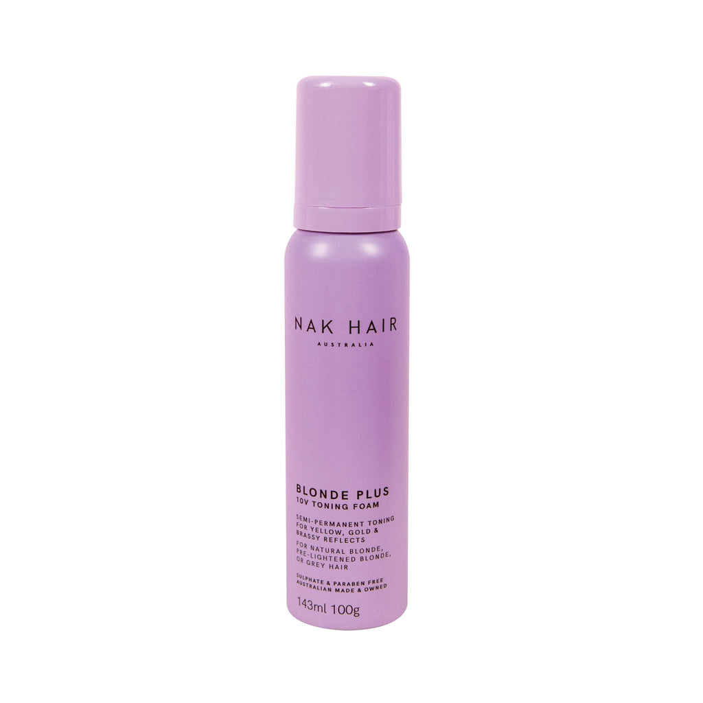 Nak Blonde Plus 10V Toning Foam - Haircare Superstore