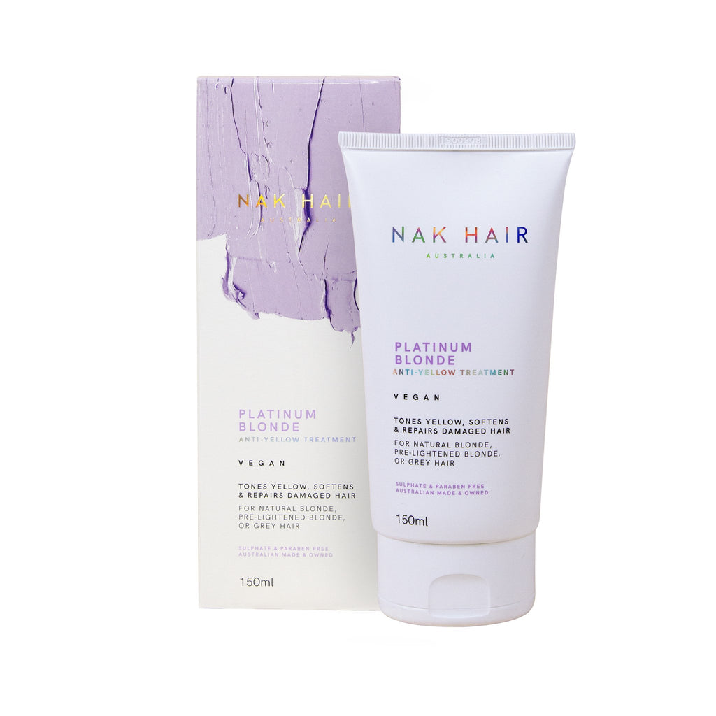NAK Platinum Blonde Anti-Yellow Treatment - Haircare Superstore