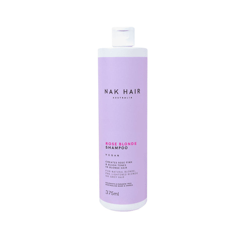 Nak Rose Blonde Shampoo - Haircare Superstore