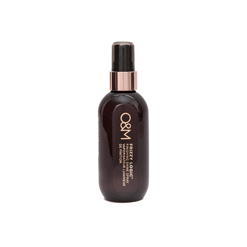 O&M Frizzy Logic Finishing Shine Spray 100ml - Haircare Superstore